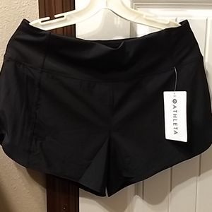 Athleta black running free short 3.5""